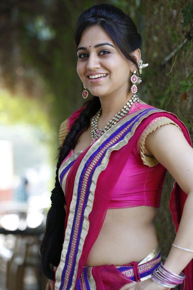 Spicy Saree: Telugu Cinema: Aksha In Red Saree Hot Pics