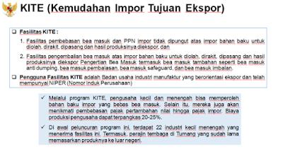 kite kemudahan impor tujuan ekspor fasilitas kite dan pengguna tarif khusus pph umkm nurul sufitri