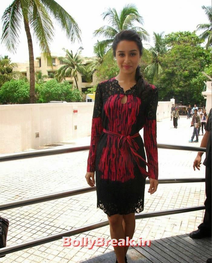 Shraddha Kapoor, Shraddha & Shahid Kapoor at 'Haider' Trailer Launch