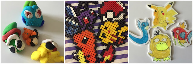 Pokemon crafts for children