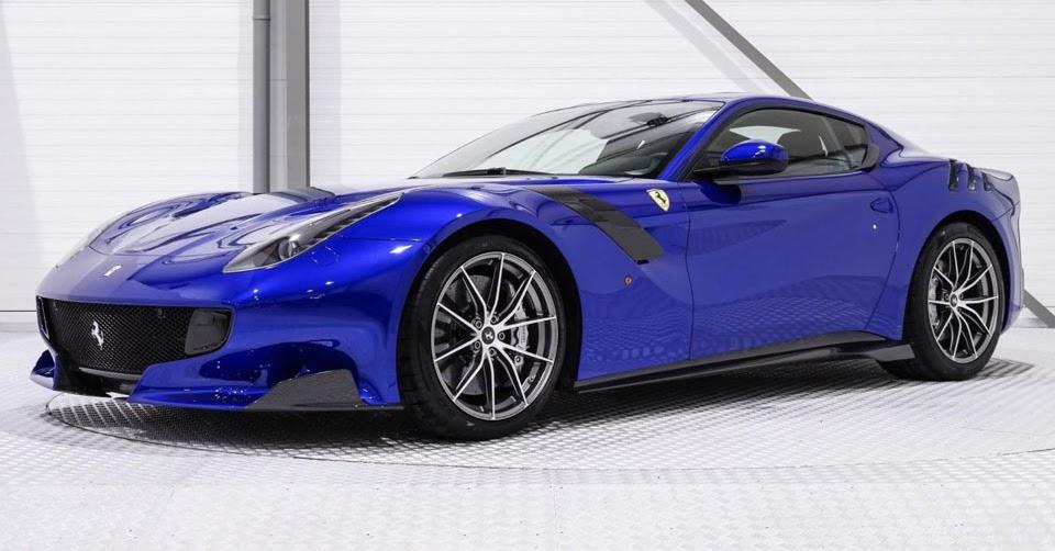 One-Off Electric Blue Ferrari F12tdf Is A Million Dollar ...