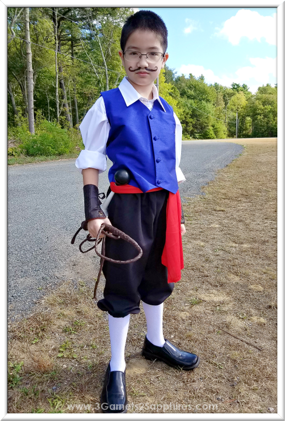 DIY Jacques Ze Whipper Costume for King Richard's Faire  |  3 Garnets & 2 Sapphires