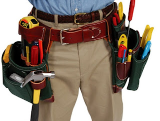 Tool belts are for tools