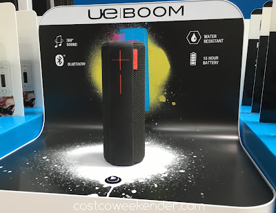 Have your own dance party with the Ultimate Ears Boom Portable Bluetooth Speaker