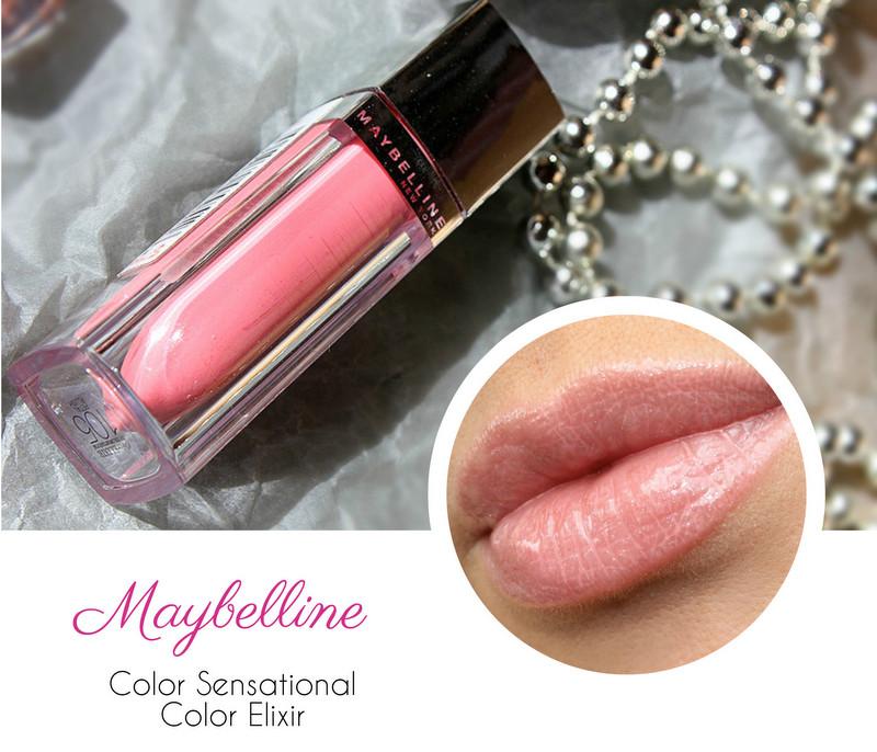 Отзыв: MAYBELLINE Color Sensational Elixir Жидкая помада для губ #105 Лепестки розы.
