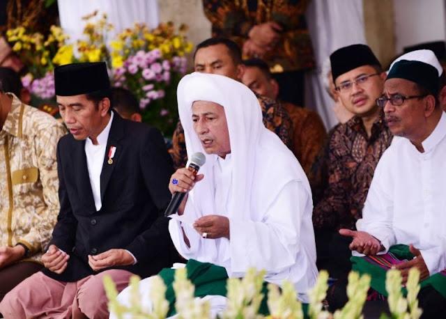 Habib Luthfi Nyatakan Dukung Sepenuhnya Pemerintah Indonesia