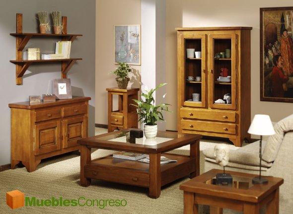 Mueble Rustico Living