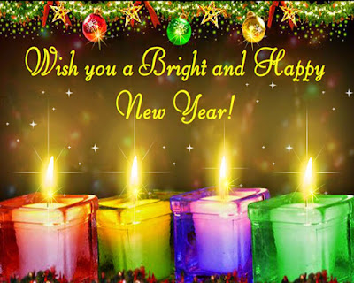 Happy New Year 2017 Candle Images