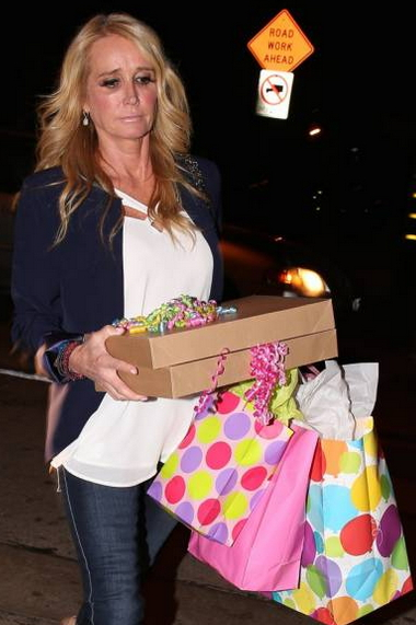 kim richards arrested target