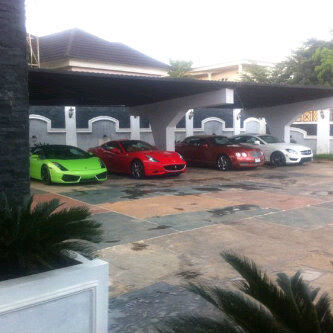 World S Most Expensive Cars Spotted In Abuja Nigeria Photos Naijagistsblog Nigeria Nollywood