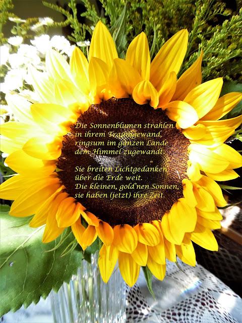 Heidis Grüne Ecke Das Symbol Des Sommers In Der Vase