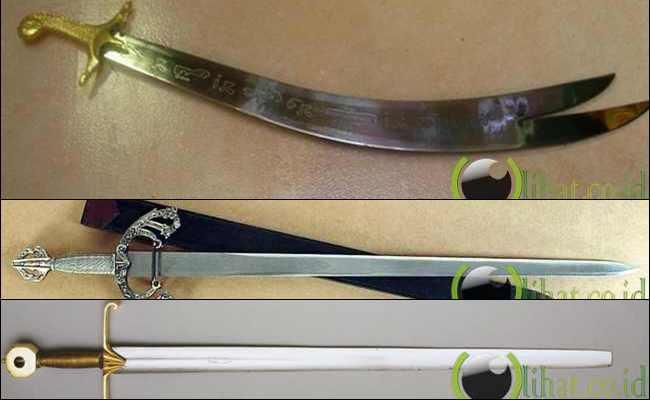 10 Pedang Klasik yang paling Melegenda Sepanjang Masa