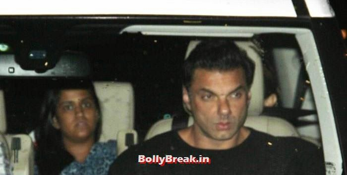 Sohail Khan, Celebs clicked at 'Kick' Special Screening at Yash Raj Studios