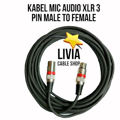 Aneka Kabel Mic, Jack Audio, Kabel Audio, Socket Mic dan Kabel Gitar Terlengkap