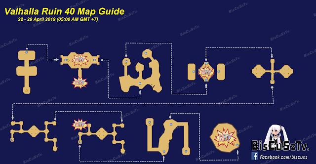 Map Lengkap Valhalla Ruins 22 April 2019 Ragnarok Mobile Eternal Love