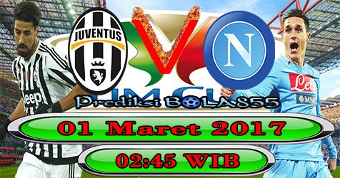 Prediksibola855 Juventus vs Napoli 1-3-2017
