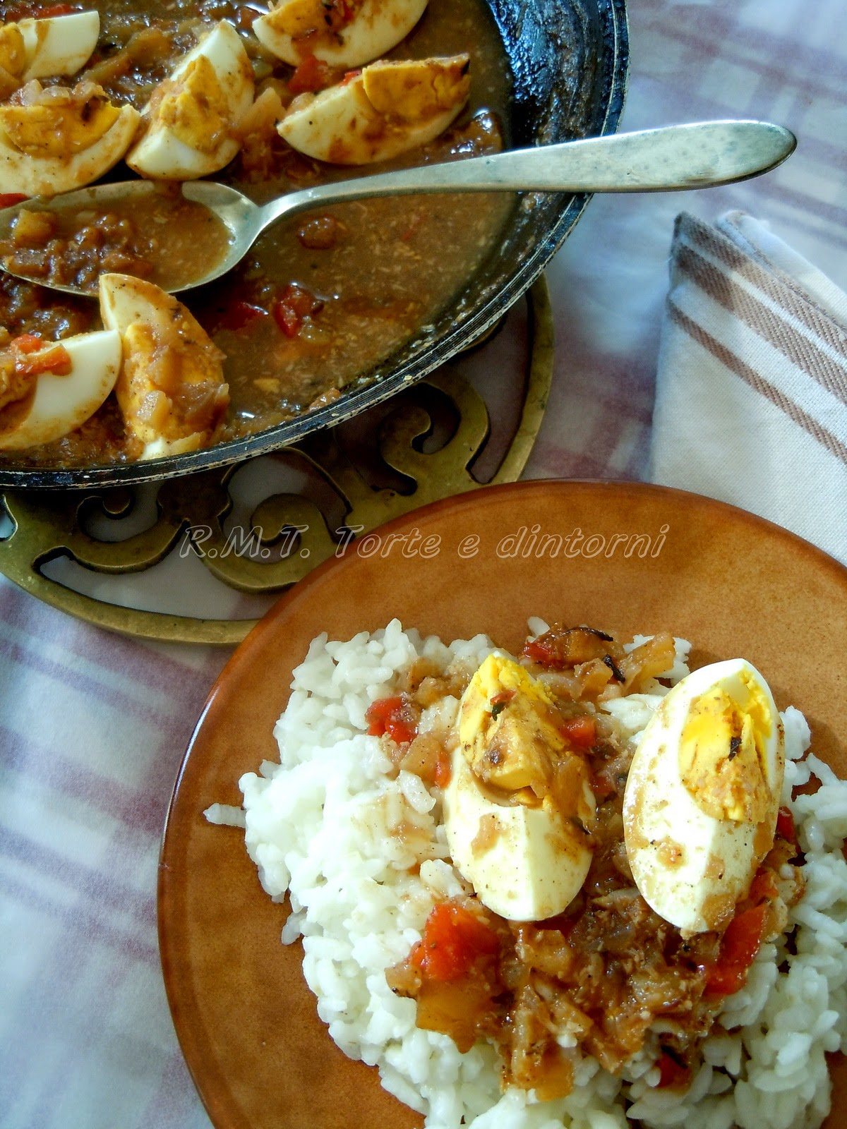 Curried Eggs: uova al curry