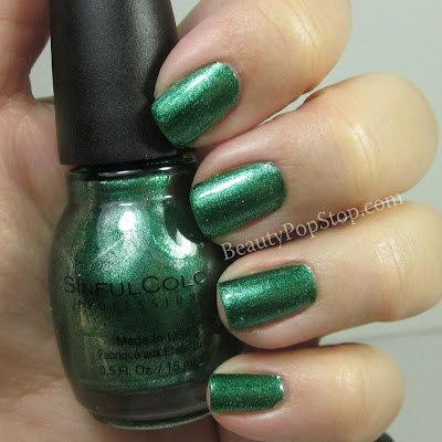 sinful colors mirror metallics pin away swatch and review