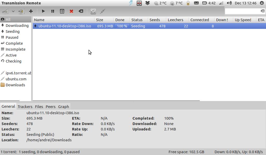 Transmission Remote GTK ~ Web Upd8: Ubuntu / Linux blog