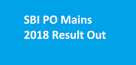 SBI PO Mains 2018 Result Declared Now - Check Here