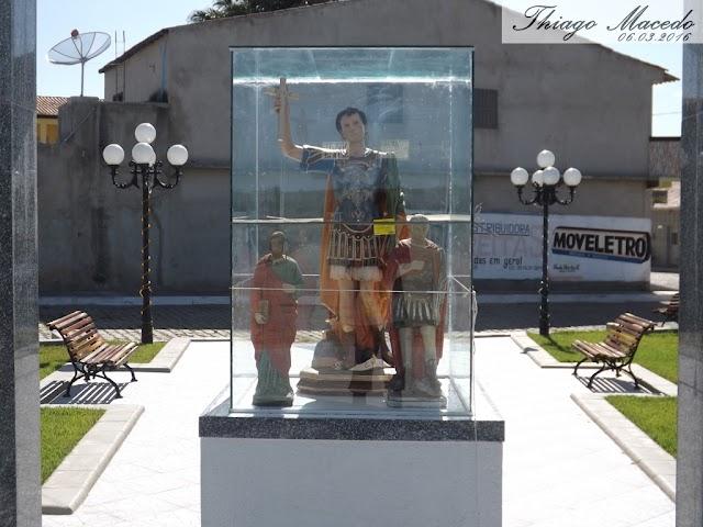 Praça Santo Expedito e São José, e as 2 principais entradas que dão acesso à cidade de Amparo