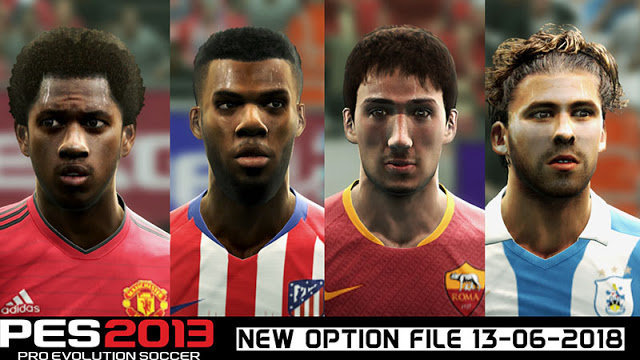 New Option File For Next Season Patch & PESEdit 6.0 PES 2013