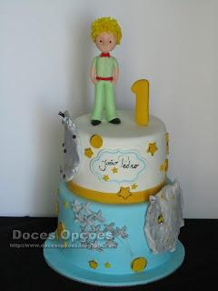 O Principezinho bolo aniversário