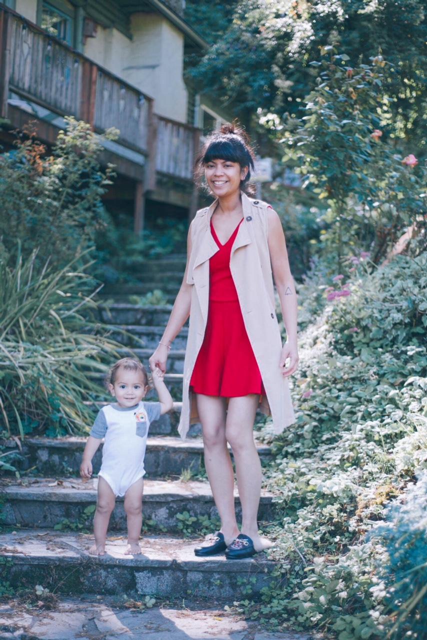 jolie coquette, pop up, portland event, fashion, romper, jumpsuit, red playsuit, fashion blogger, portland blogger, how I wear romper, fall 2017,