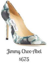 Sydney Fashion Hunter - Jimmy Choo Abel Floral Pump