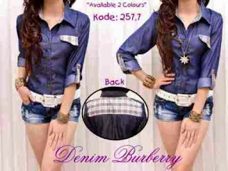 Denim Dua Warna