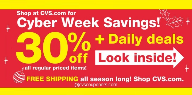 CVS Cyber Week Deals 11/25-12/1