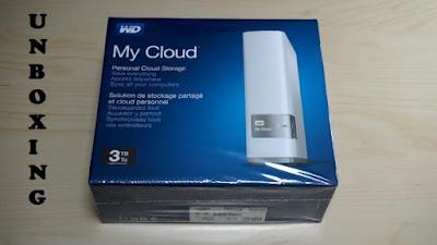 unboxing WD MyCloud 3 Tb