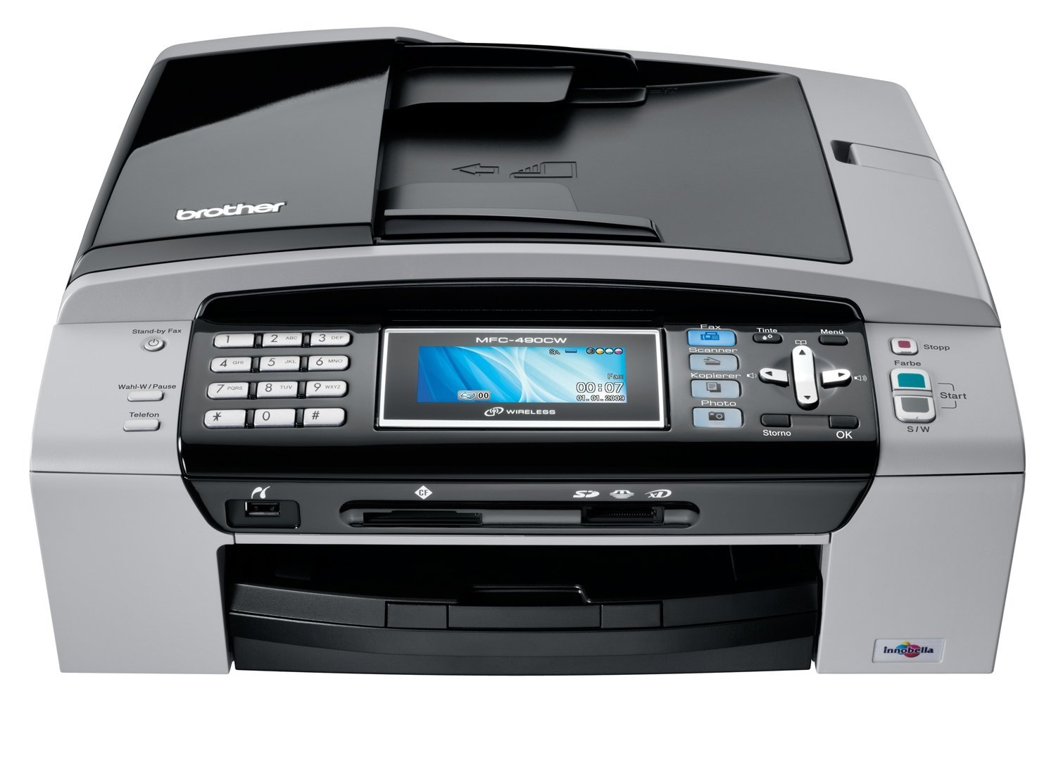 Brother mfc-490cw driver download   brother drivers download.