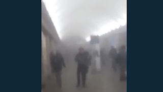 St Petersburg Explosion: At Least 10 Dead After 'Shrapnel-Filled Devices' Explode In Two Metro Blasts