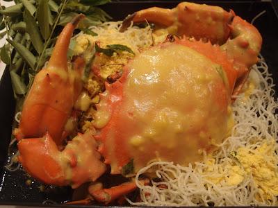 咸蛋黄螃蟹
