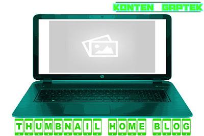 Cara Menambahkan Thumbnail Blog