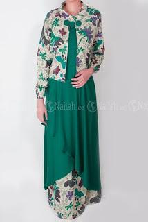 Model Gamis Batik Bolero Terbaru