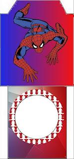 Bolsita de Té para imprimir gratis de Spiderman.