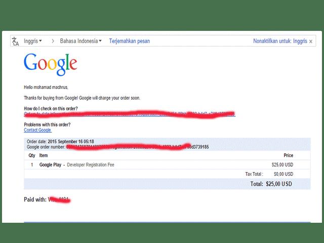 email payment dari google
