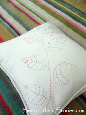 http://www.sumoftheirstories.com/2016/02/running-stitch-embroidered-cushion-cover.html
