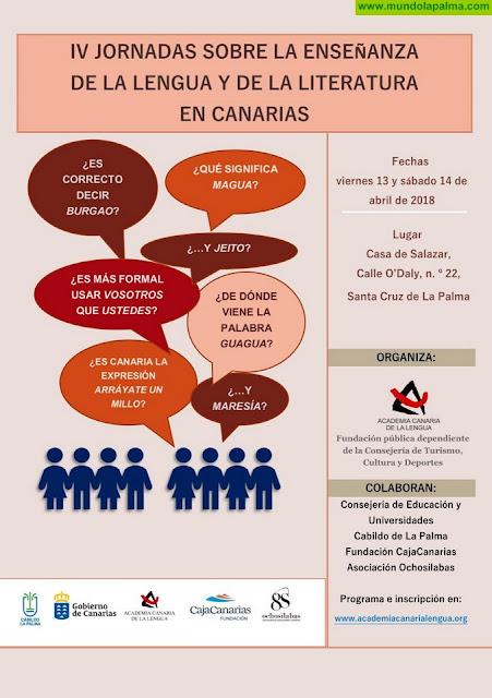 La ACL organiza en La Palma unas jornadas sobre la enseñanza de la Lengua y la Literatura