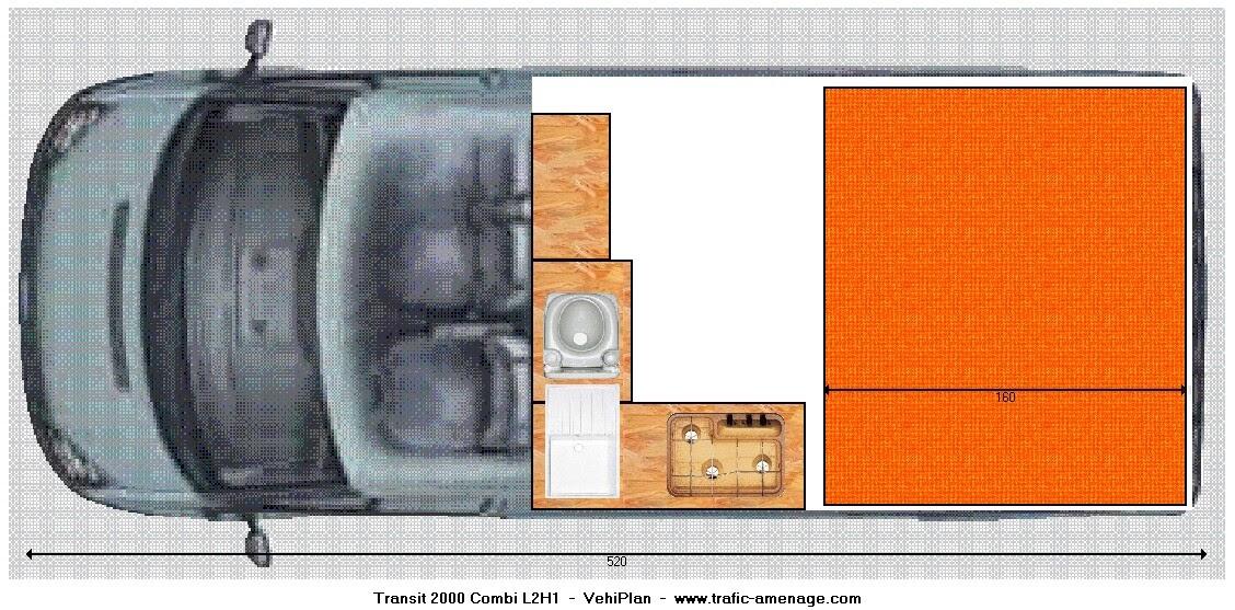 surf all med am nagement ford transit suite. Black Bedroom Furniture Sets. Home Design Ideas
