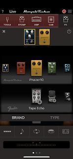 Effektgeräte in AmpliTube