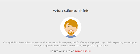 Clients, Opinion, ChicagoVPS, Services