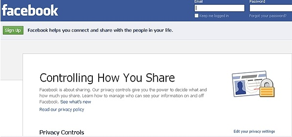 Facebook Controlling How to Share