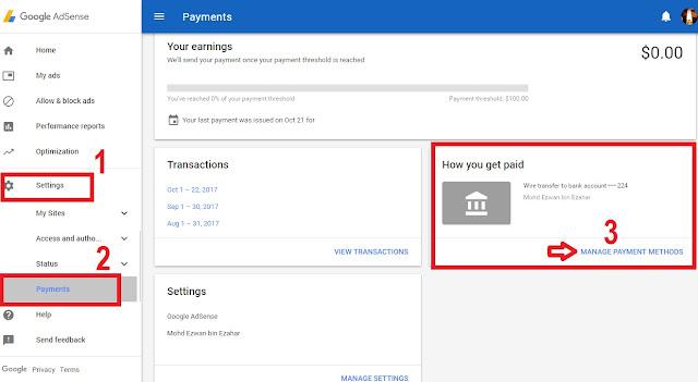 Macam Mana Nak Cash Out Google Adsense