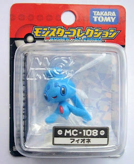 Phione Pokemon Figure Tomy Monster Collection MC series
