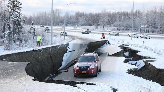 Breaking News! Alaska Diguncang Gempa 7 SR, Berpotensi Tsunami