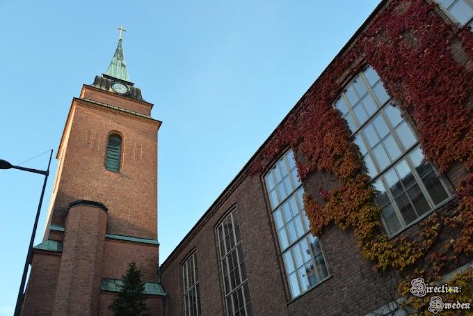 Jesienny spacer po kościołach na Kungsholmen