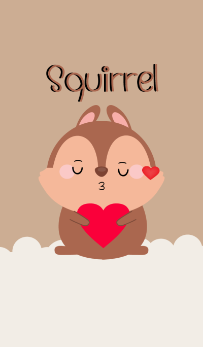 Simple Lovely Squirrel